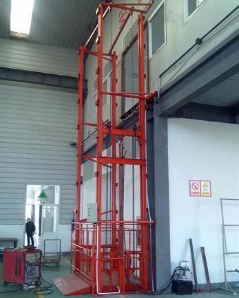 人货梯尺寸、商场货梯尺寸、2吨货梯尺寸、3吨货梯尺寸、升降货梯尺寸、货梯井道尺寸有哪些?