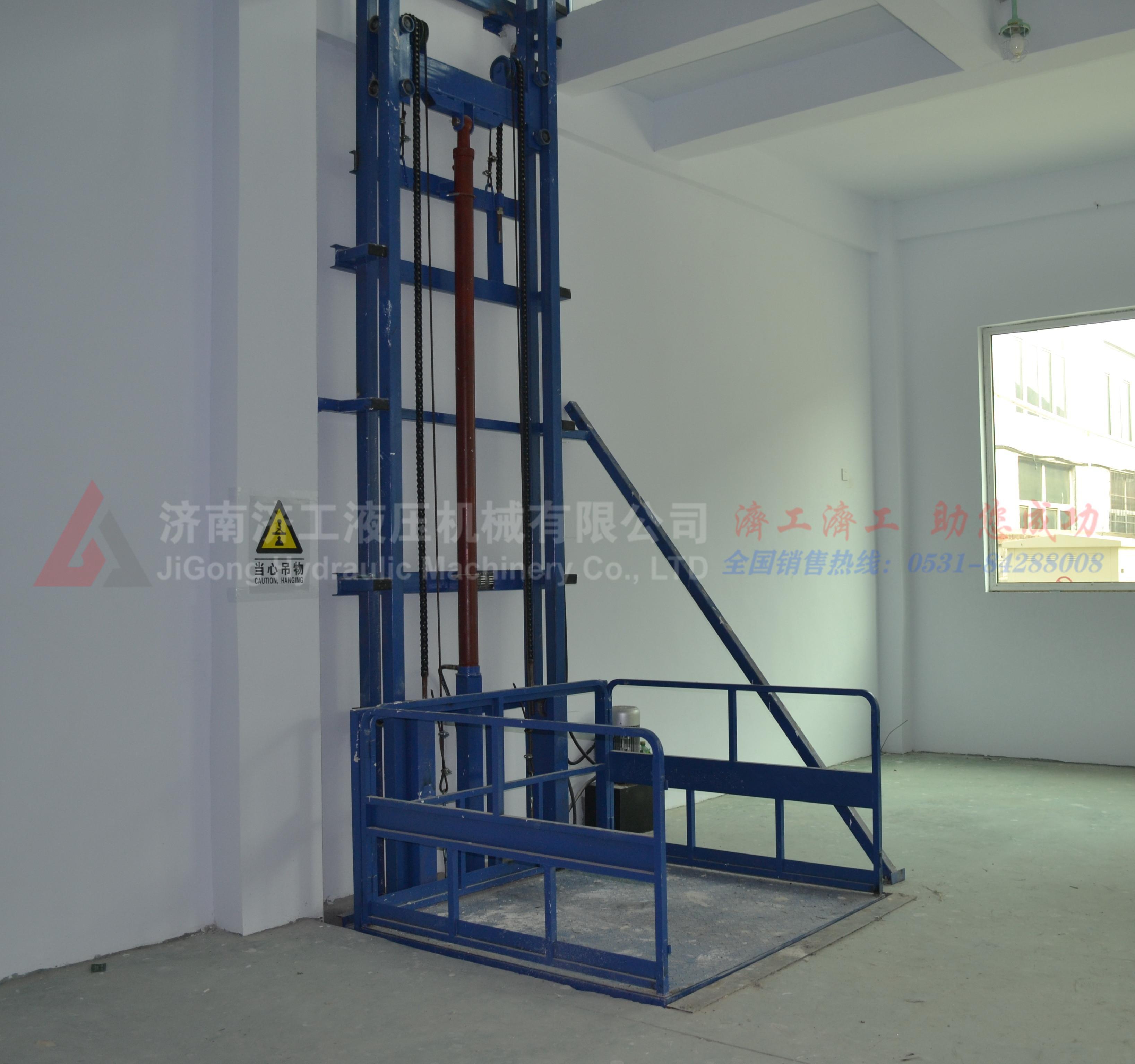 导轨式家用液压升降货梯,家用电梯